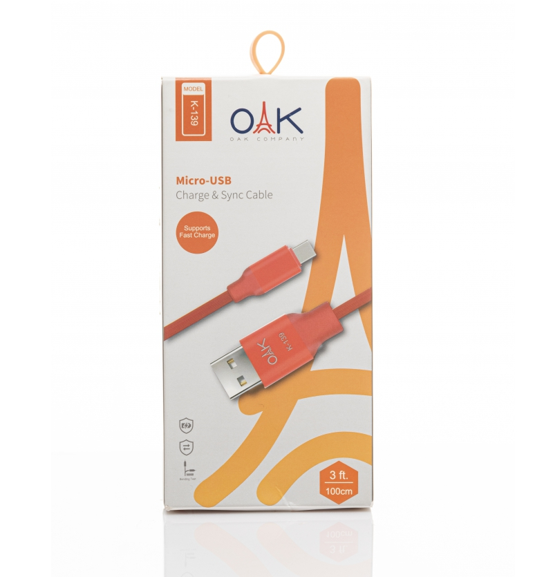 کابل USB مدل K-139 OAK