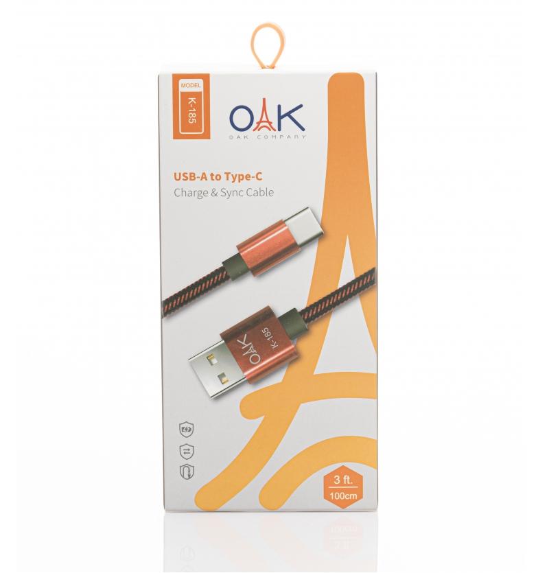 کابل USB مدل K-185 OAK